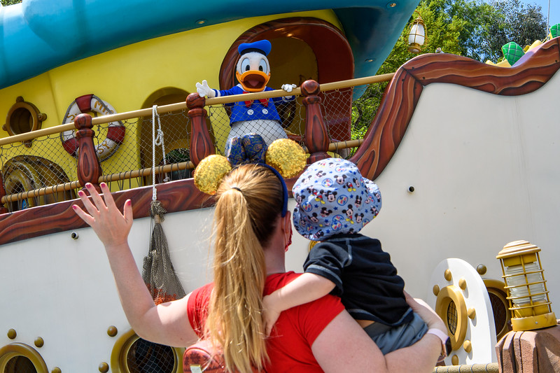 Magic Returns to Disneyland Resort Theme Parks - Donald Duck at Disneyland Park