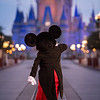 Mickey Mouse on Reopening Day of Magic Kingdom Park