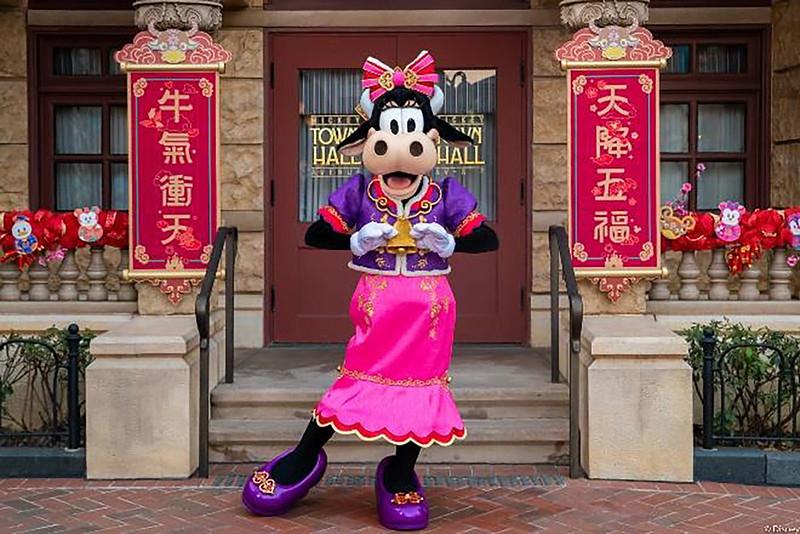 Shanghai Disney Resort 2021 A Spring Festival Spectacular Lunar New Year (5)