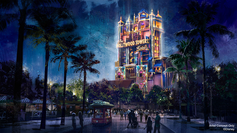 Hollywood Tower Hotel Beacon of Magic