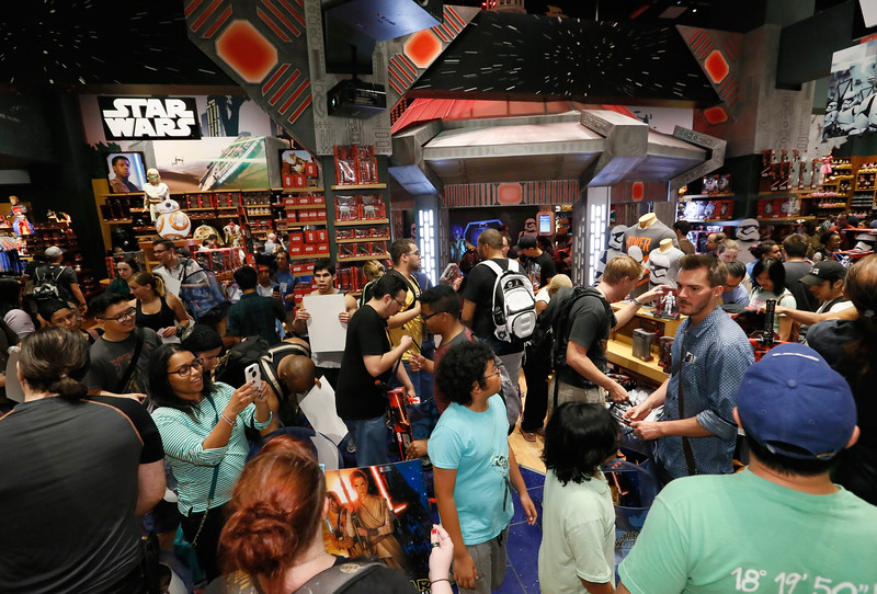 Force Friday Kicks off at Disney Store Times Square