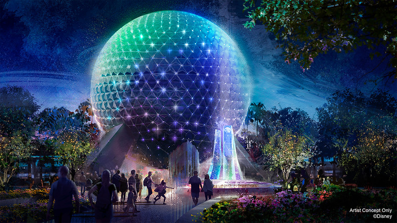 Spaceship Earth Beacon of Magic