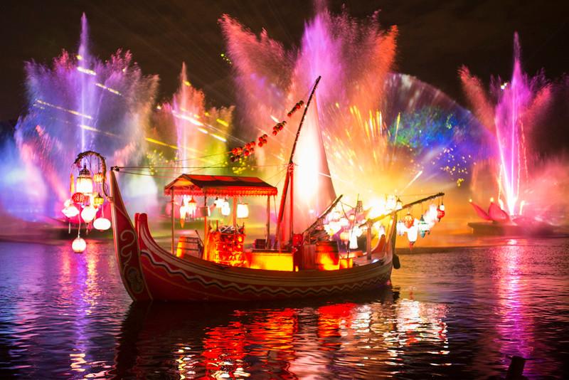 Rivers of Light at Disney's Animal Kingdom at Night