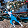 Frozone in Pixar Pier at Disney California Adventure Park