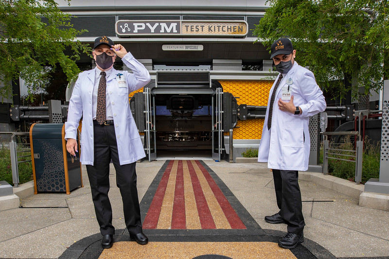 Avengers Campus Cast Members Costumes – Pym Test Kitchen featuring Impossible™ Foods