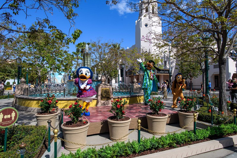 Magic Returns to Disneyland Resort Theme Parks - Characters at Disney California Adventure Park