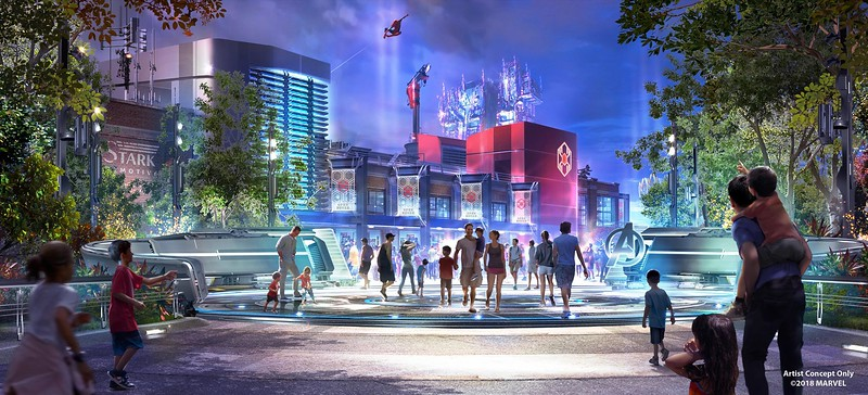 Marvel expansion at Disney Parks, new concept art revealed