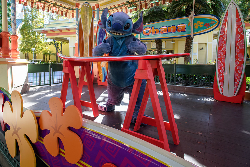 Magic Returns to Disneyland Resort Theme Parks - Stitch at Disney California Adventure Park