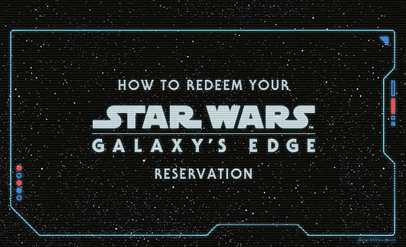 HOW TO: Use your reservation to access STAR WARS: GALAXY'S EDGE at Disneyland
