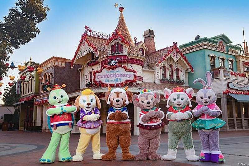 Shanghai Disney Resort 2021 A Spring Festival Spectacular Lunar New Year (4)