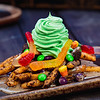 Halloween Time Treats at Disneyland Resort - Oogie Boogie-Inspired Funnel Cake Fries