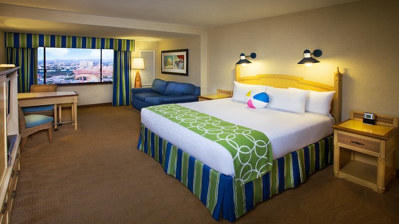 disneys paradise pier hotel room