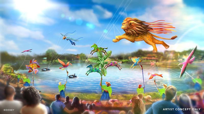 'Disney KiteTails' Debuts Oct. 1 at Disney's Animal Kingdom Theme Park