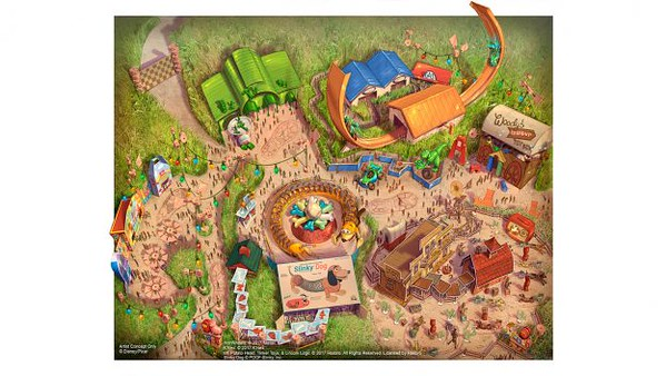 Toy Story Land set to open at Shanghai Disneyland on April 26th, 2018