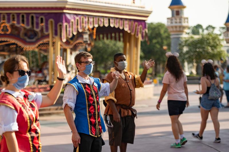 Magic Kingdom Park Reopening