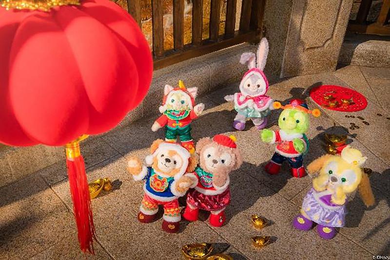 Shanghai Disney Resort 2021 A Spring Festival Spectacular Lunar New Year (18)
