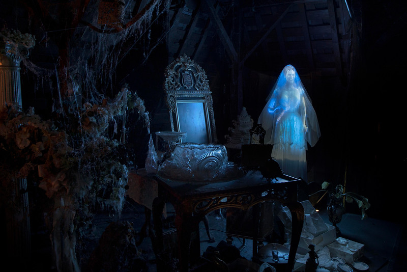 #HauntedMansion50: Spotlight on the happy haunts that materialize inside Disneyland's HAUNTED MANSION