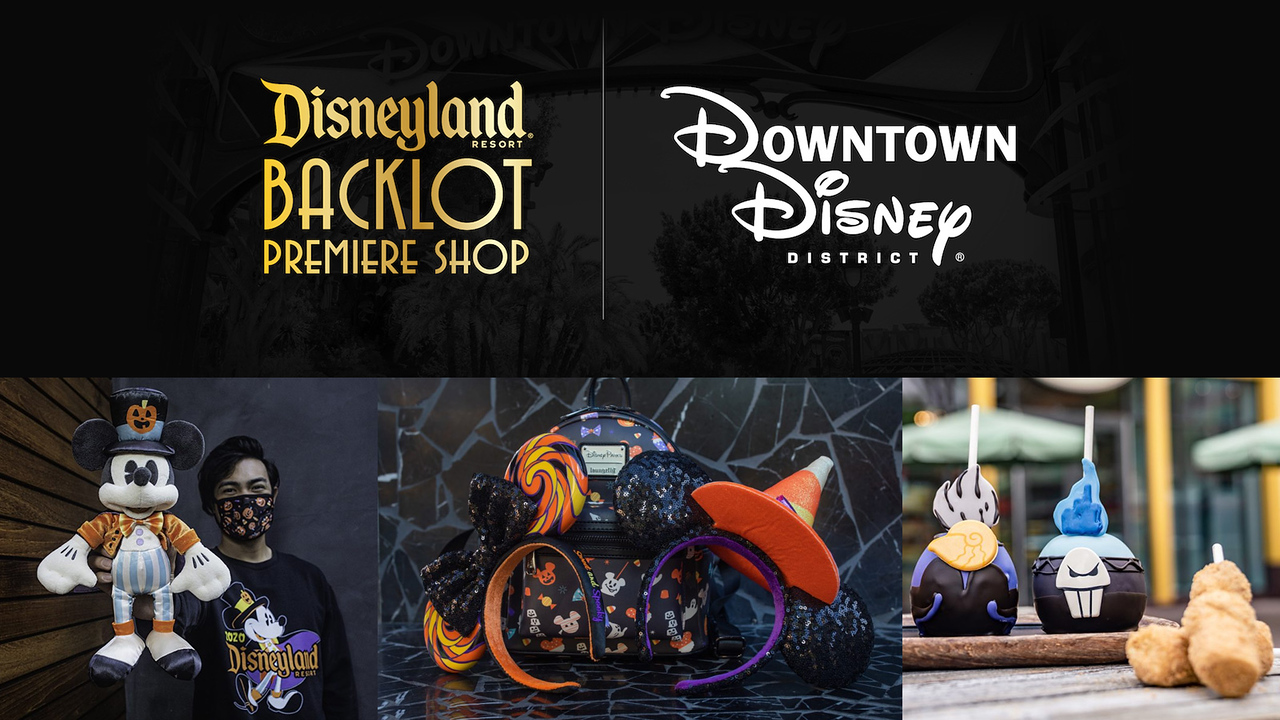 Fall merchandise push at Disneyland Resort introduces new Disneyland Backlot Premiere Shop inside of DCA, Stage 17