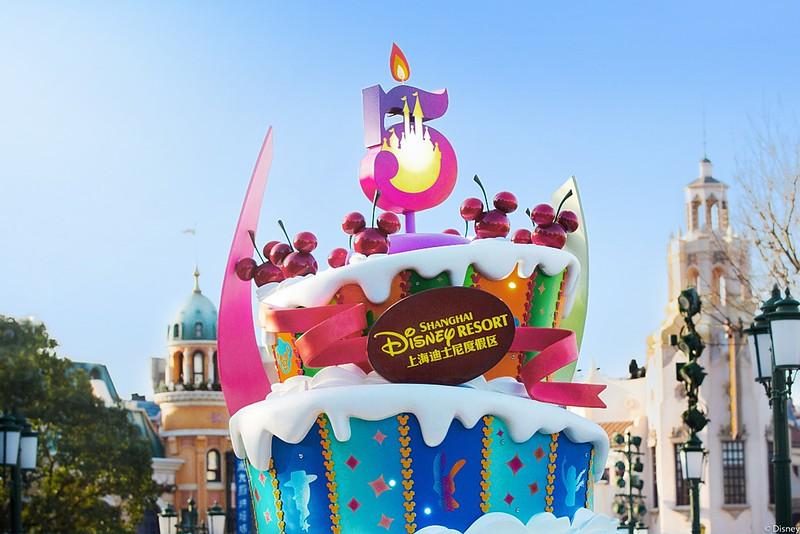 shanghai disneyland 5th anniversary birthday celebration (6)