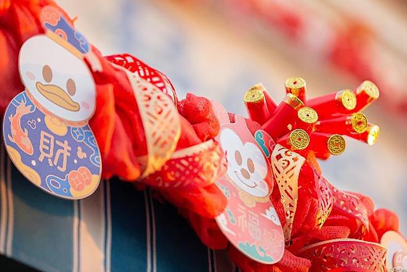 Shanghai Disney Resort 2021 A Spring Festival Spectacular Lunar New Year (8)