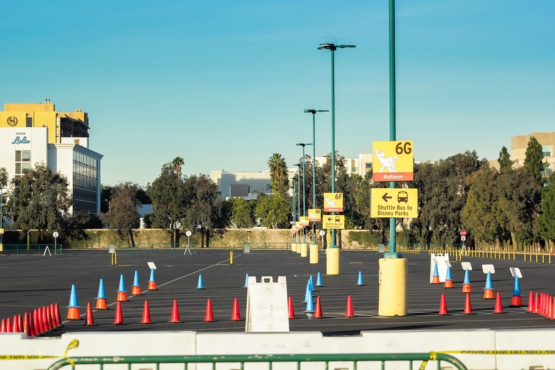Disneyland Resort COVID-19 Vaccine Super POD. Image provided courtesy of County of Orange.