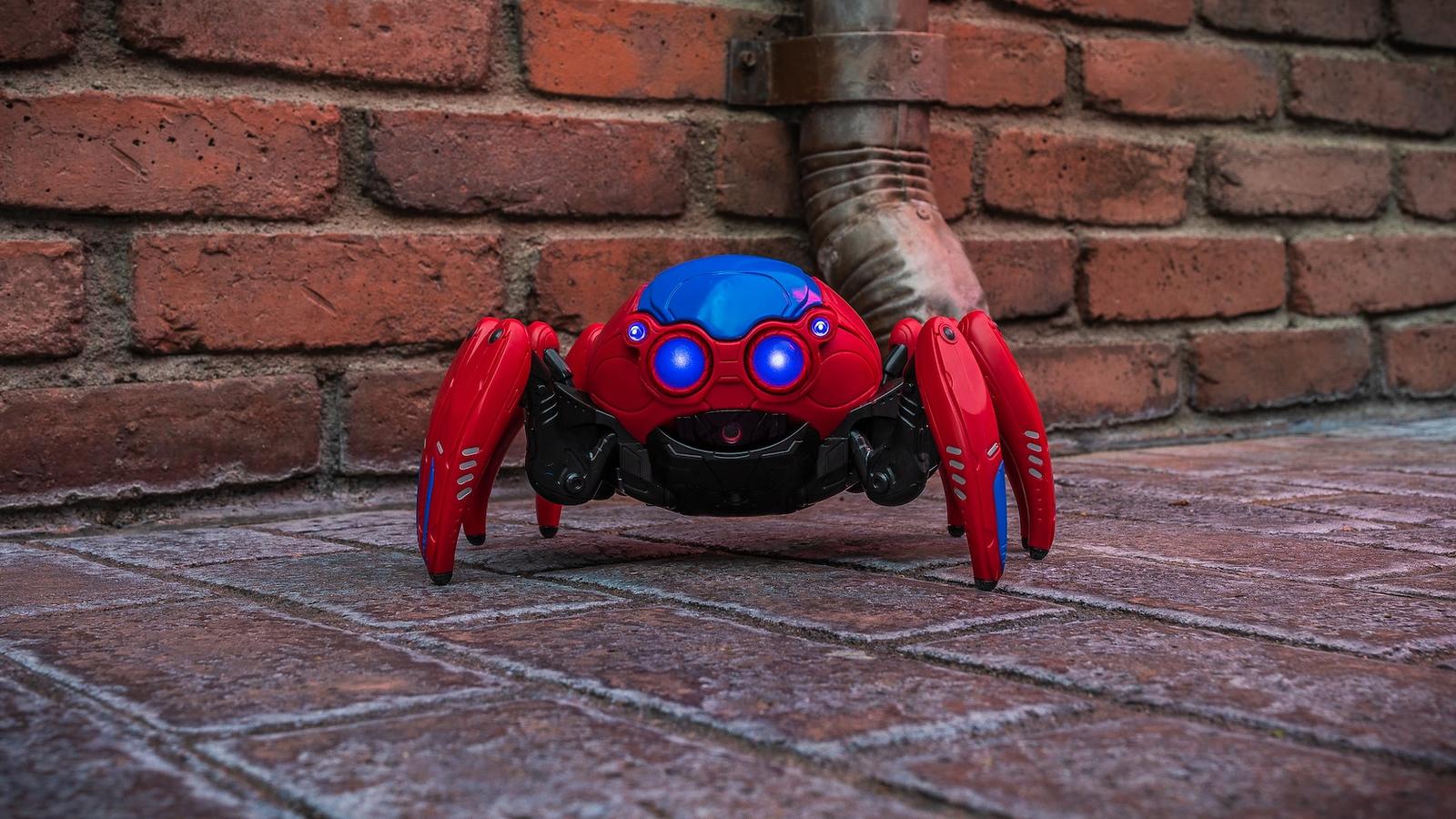 spiderbot-avengers campus disney california adventure