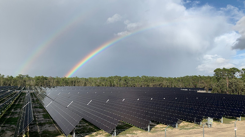Walt Disney World's new 270-acre Solar Facility is online, enough to power TWO of its Florida parks!
