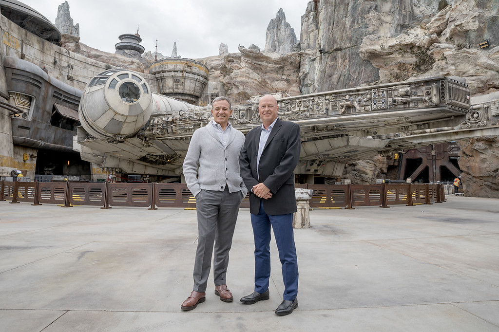 Bob Iger steps down, Bob Chapek named CEO for The Walt Disney Company