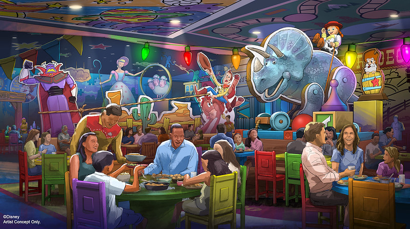 TOY STORY LAND expanding with new table-service BBQ restaurant