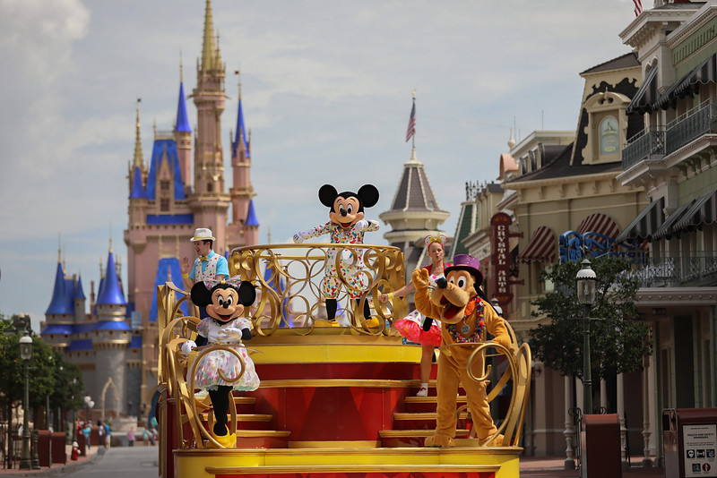 'Mickey and Friends Cavalcade'