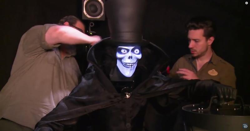 Behind the Scenes: Hatbox Ghost at Disneyland