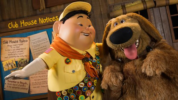 New Show at Disney's Animal Kingdom to Feature Russell, Dug from UP