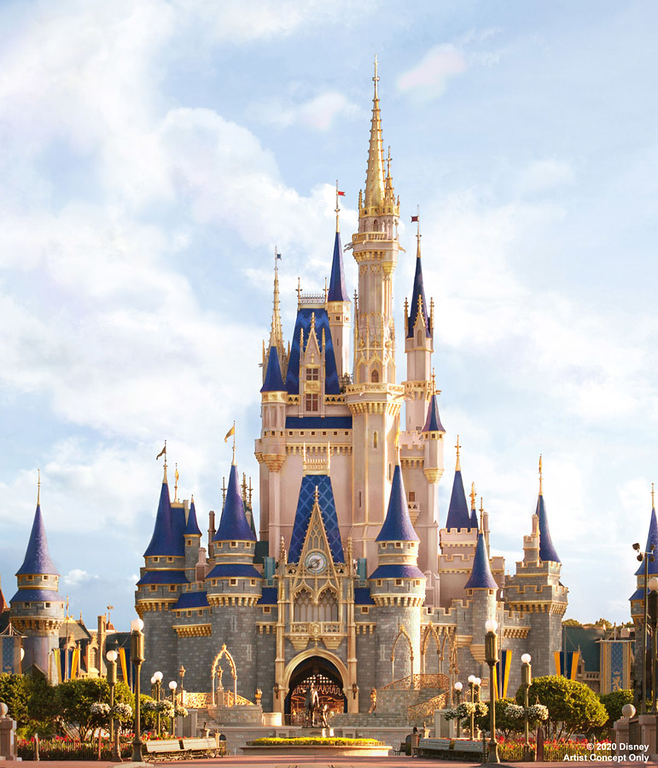 CINDERELLA CASTLE upcoming makeover inspired by a wish your heart makes at Walt Disney World