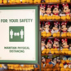 Health and Safety Signage at Walt Disney World Resort Theme Parks