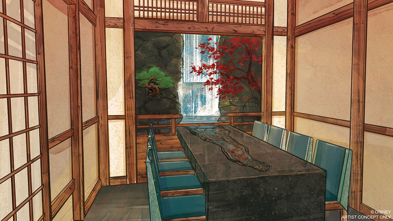 Details released for new Takumi-Tei restaurant at Japan pavilion, Epcot