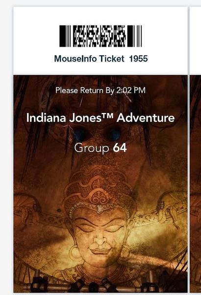 indiana jones adventure disneyland virtual queue boarding group process screenshot (6)