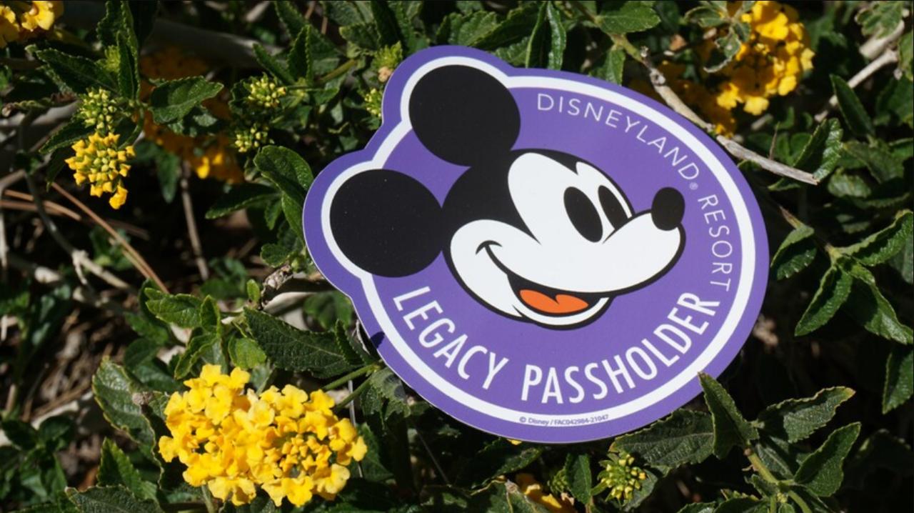 legacy passholder corner touch of disney magnet