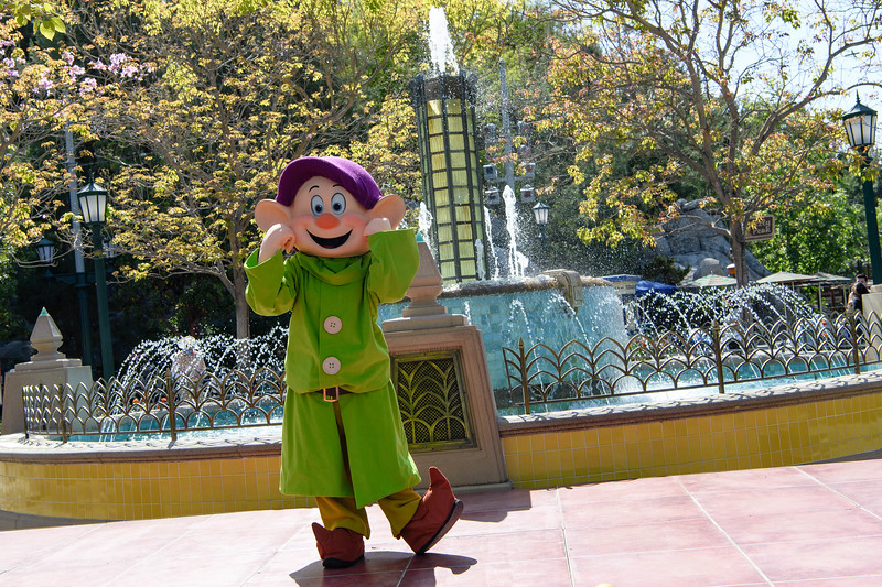 Magic Returns to Disneyland Resort Theme Parks - Dopey at Disney California Adventure Park