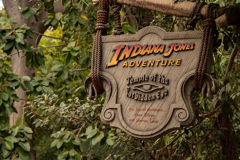 Indiana Jones Adventure at Disneyland Park