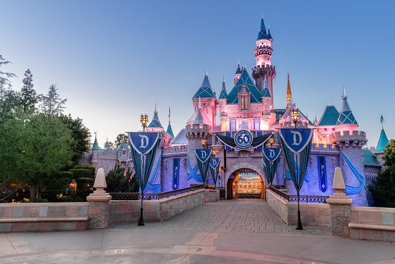 Disneyland Park 60th Sleeping Beauty Castle