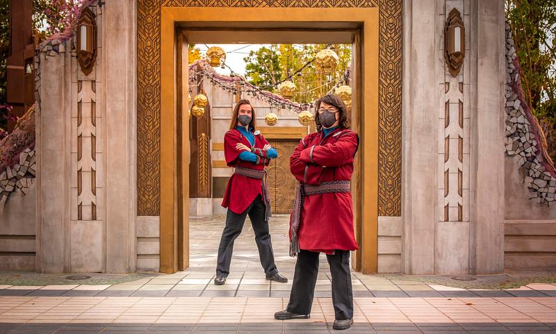 Avengers Campus Cast Members Costumes – Ancient Sanctum