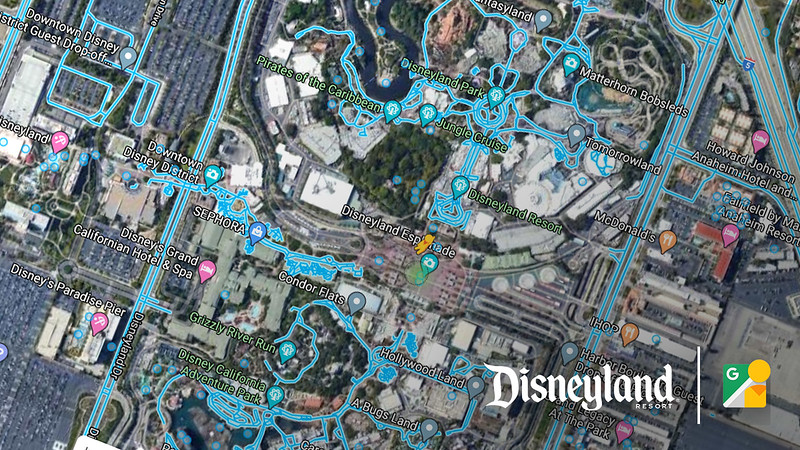 Disneyland Resort launches 360 walk-arounds on Google Street View