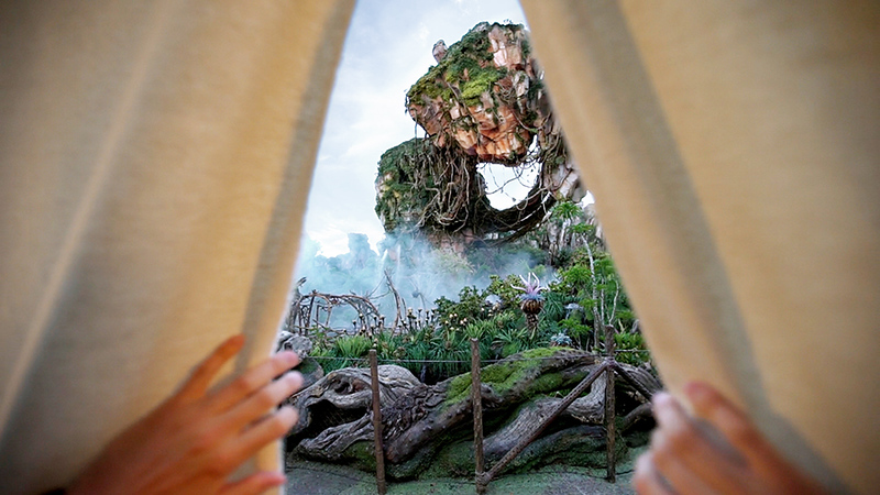 Glamping in PANDORA at Walt Disney World; because, why not?