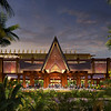 Reimagined Porte Cochere at Disney's Polynesian Village Resort