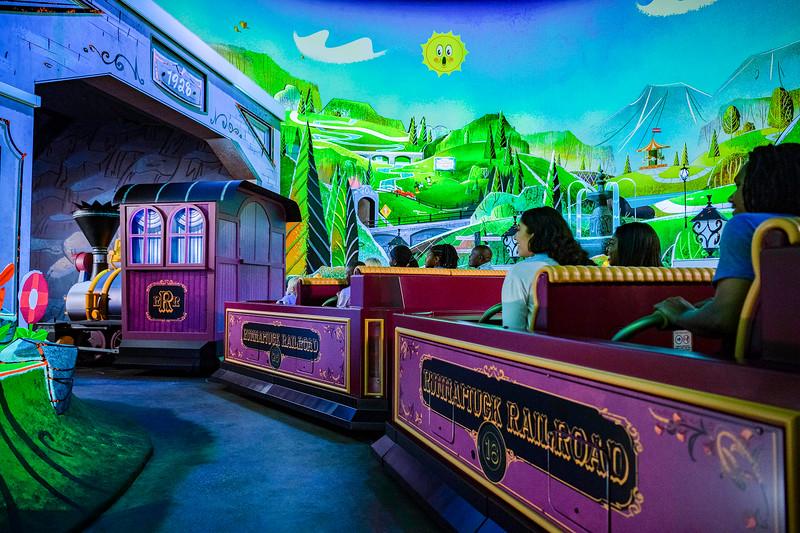 Runnamuck Park in Mickey & Minnie's Runaway Railway