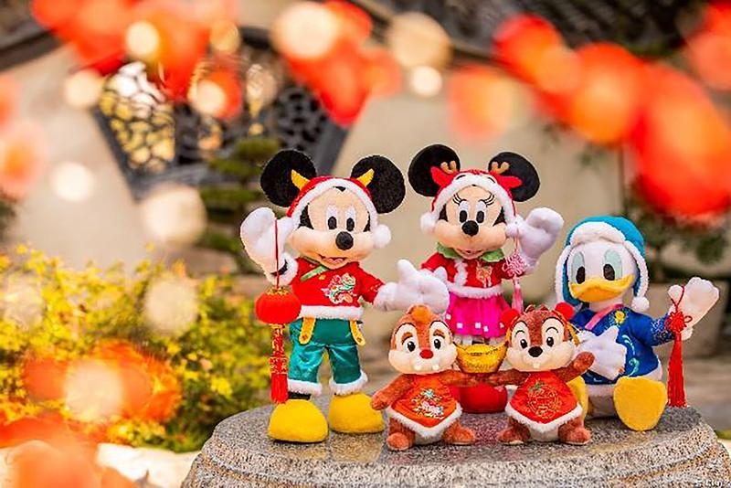 Shanghai Disney Resort 2021 A Spring Festival Spectacular Lunar New Year (14)