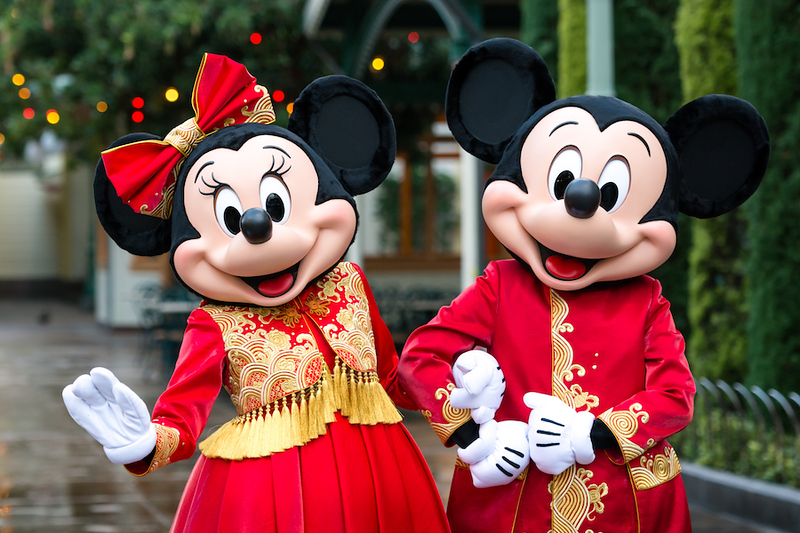 FIRST LOOK: Mickey and Minnie rocking the 2020 Lunar New Year in designer duds