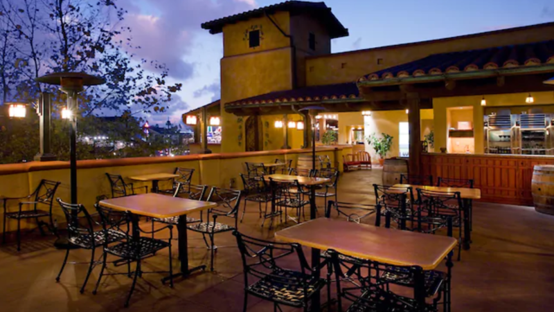 AP PERK: DCA Alfresco Tasting Terrace to become AP-only staring January 5