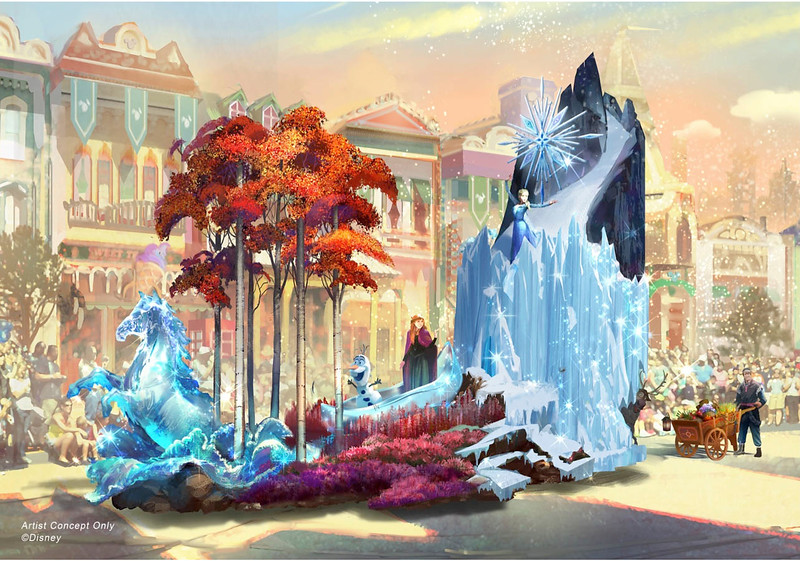 MAGIC HAPPENS parade confirmed for February 28 debut at Disneyland, new concept art released