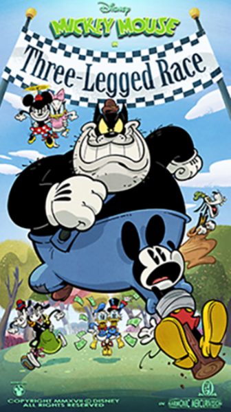 'Mickey & Minnie's Runaway Railway' runs away with another poster